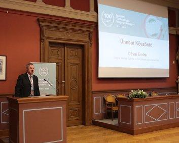 Ünnepi köszöntő - Dévai Endre - a Magyar Medikai Gyártók és Szolgáltatók Egyesületének elnöke