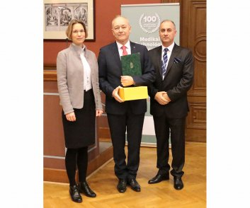 Elismerésben részesülők - Farkas József - Sanatmetal Kft. ügyvezető igazgatója