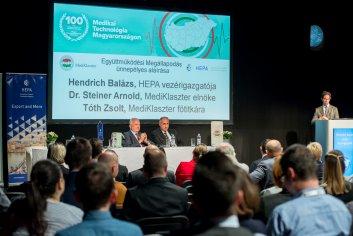MediKlaszter konferencia_ HEPA együttműködés_2019.10.07